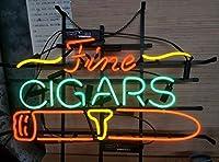 Desungブランド新しいfinecigars Neon Sign (各種サイズ) ビールバーパブMan Caveビジネスガラスネオンランプライトdb346 20 Inches