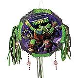 Teenage Mutant Ninja Turtles Drum Pull-String Pinata ティーンエイジ?ミュータント?ニンジャ?タートルズドラムプル文字列ピニャータを?ハロウィン?クリスマス?