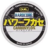 デュエル(DUEL) ライン(カーボナイロン): HARDCORE パワーフカセ 150m 1.75号 MG: ミルキーグリーン