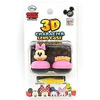【 3Dキャラクター レンズケース ディズニー ミニー】 ミッキー ミニー ドナルド デイジー グーフィー カラコン カラーコンタクト 3D レンズケース Disney モテコン アネコン のケースとしてもどうぞ♪