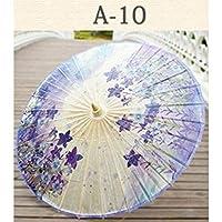 傘女性の日傘竹防雨油紙車傘日陰雨女性装飾木材日傘