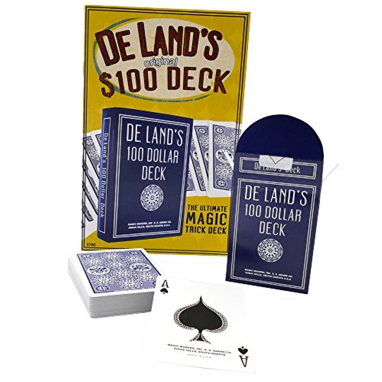 [マジック メーカー]Magic Makers De Land's Original $100 Deck Printed In Bicycle Paper Stock 0780 [並行輸入品]