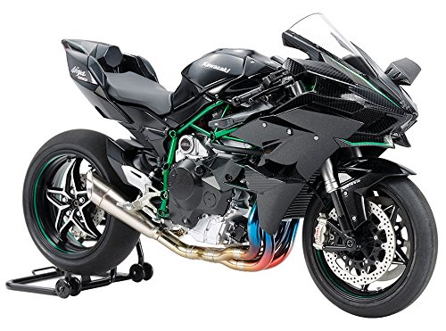 Tamiya 1/12 masterwork collection No.160 Kawasaki Ninja H2R painted model 21160 completed