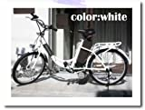 スイスイらくらく!22インチ電動アシスト自転車ホワイト(電気自転車 ・アシスト自転車・電動自転車・Airbike)