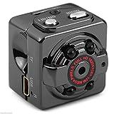 Xmony SQ8 超小型 フル HD 1080P 暗視機能 サイクル録画1280*720P 動体検知 防犯カメラ 監視カメラ カメラ ビデオカメラ 親指サイズ ミニ ドライブレコーダー
