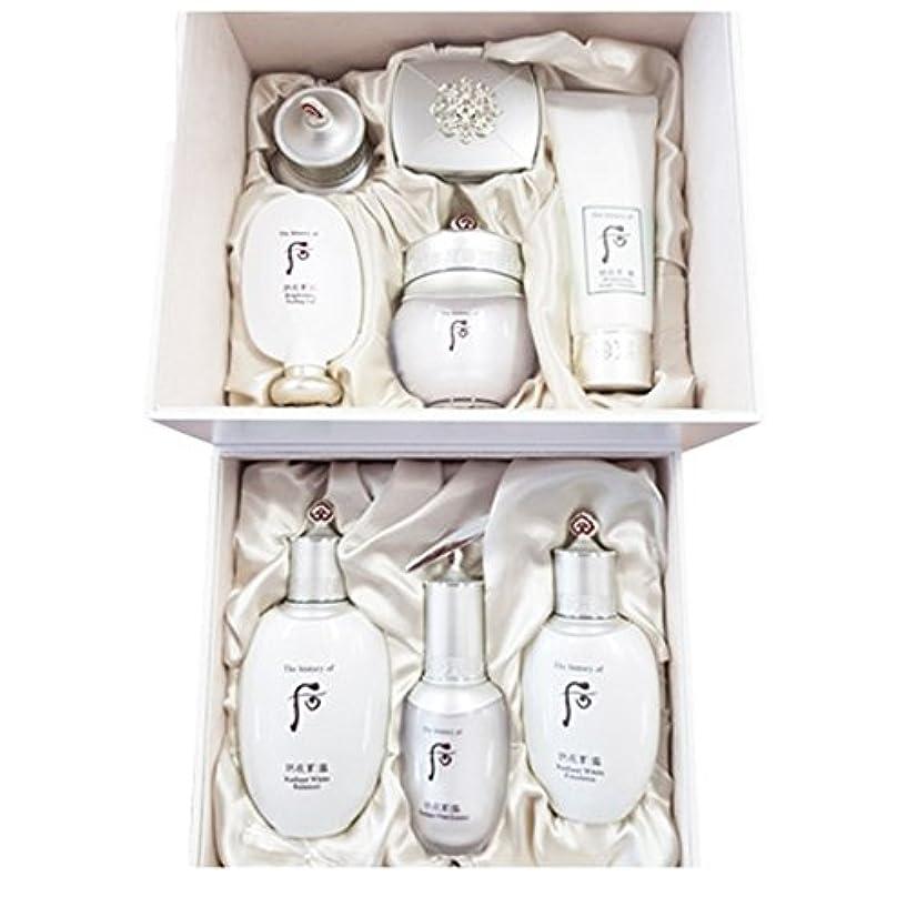 前任者慢な女性【フー/The history of whoo] Whoo 后 GONGJIN HYANG SEOL Whitening SkinCare Special Set/後純白スペシャルセット + [Sample Gift](...