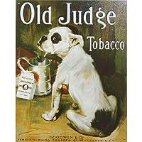 【ブリキ看板】Old Judge Tobacco/オールド・ジャッジ・タバコ [並行輸入品]
