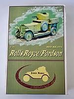 ロールスロイス装甲車 レジン フルキット 1:35 [E35-001]Rolls Royce ARMOURED CAR /Fordson Jordi Rubio