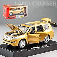 CBPPKIDAMI 1:32 ダイキャスト合金車トヨタランドクルーザー車モデル音光おもちゃの車子供のための友人ギフト машинкиおもちゃの車のる