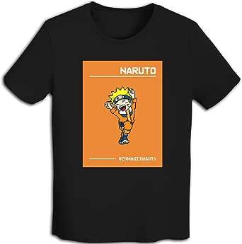 プリント 半袖シャツ メンズ T-Shirt Narutoナルト Tシャツ White