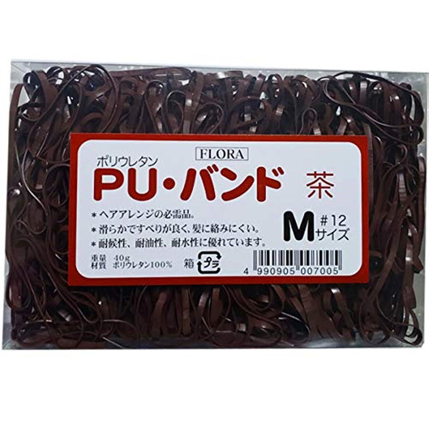 役員補正ブラシローレル フローラ PU バンド 内容量40g #12 (茶)