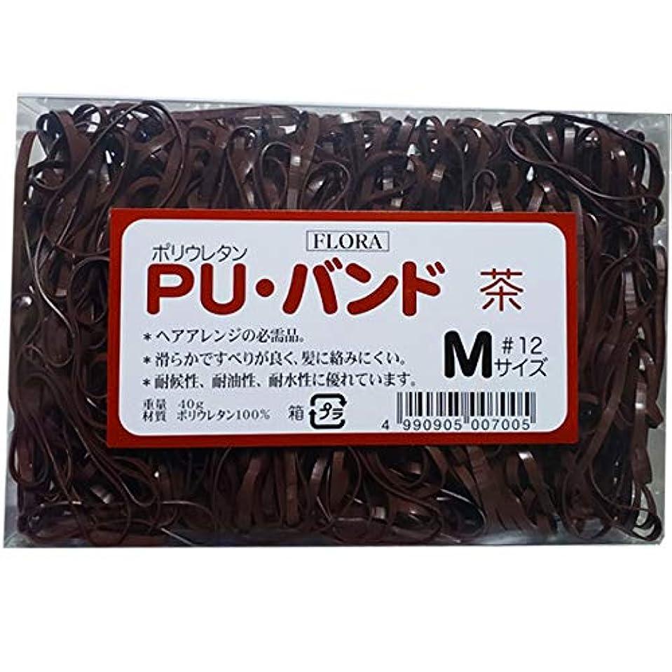 ホラー同化広くローレル フローラ PU バンド 内容量40g #12 (茶)