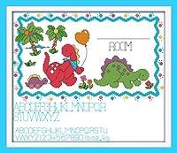 Maomao 図柄印刷クロスステッチキット 専属赤ちゃん誕生日記念刺しゅう装飾品 十字繍通販 [並行輸入品]