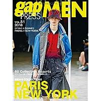 2018 S/S gap PRESS MEN vol.51 PARIS / NEW YORK (gap PRESS Collections)