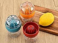 zehaer多機能プラスチック手動ジューサーキッチンフルーツレモン絞り器ツールランダムカラー