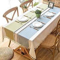 ティーテーブルクロス防水とアイアンプルーフ長方形のリビングルームのテーブルクロスアート小さな新鮮なテーブルクロス北欧風ティーテーブルマットテーブルクロス (色 : A, サイズ さいず : 140*220cm)