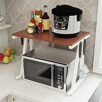 台所棚、レストラン、ホテルのためのステンレス鋼の収納棚の調味料をつける簡単でそして多目的な二重オーブンの電子レンジの炊飯器 White Teak color