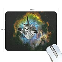 PROEVER Galaxy Cat Mouse Pad Game Office Thicker Mouse Pad Decorated Mouse Pad [並行輸入品]