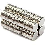 50個セット ネオジム ディスク マグネット 3x1mm 等級 N52 クラフト マジック 磁石 並行輸入品