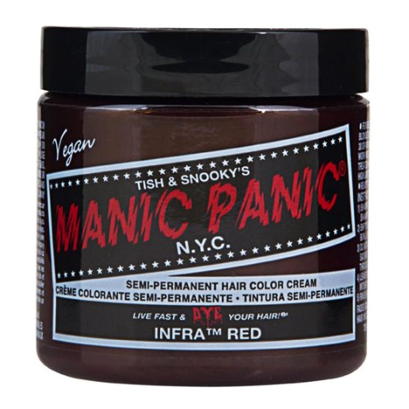 一杯シーズン傀儡マニックパニック MANIC PANIC ヘアカラー 118mlインフラレッド ヘアーカラー