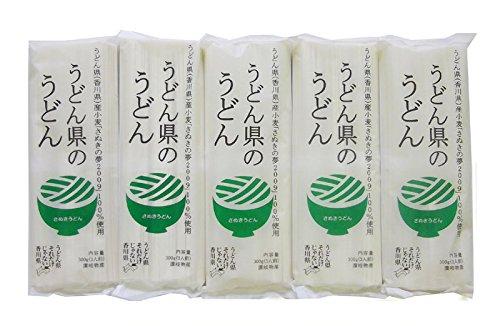 讃岐物産 うどん県のうどん 300g×5袋
