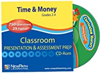 NewPath Learning Time and Money Skills Interactive Whiteboard CD-ROM Site License Grade 2-4 [並行輸入品]