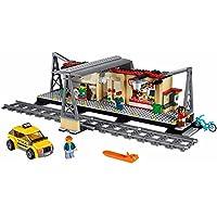 LEGO レゴ シティ 60050 互換 トレイン ステーション ミニフィグ付き