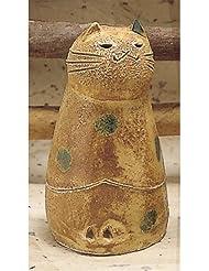 香炉 立ちネコ 香炉(小) [R5xH9.7cm] HANDMADE プレゼント ギフト 和食器 かわいい インテリア