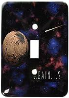 3drose LLC lsp _ 20510_ 1Again SFスペースデザインのPlanet Mars withの着信Traveling Craft Single切り替えスイッチ