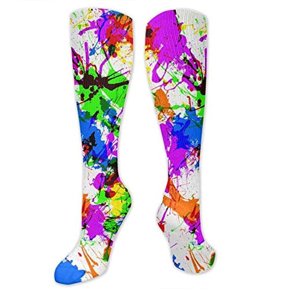 散逸苦しめる休み3 Pペイントスプラッター抗菌アスレチック靴下男性の女性のための最高の医療