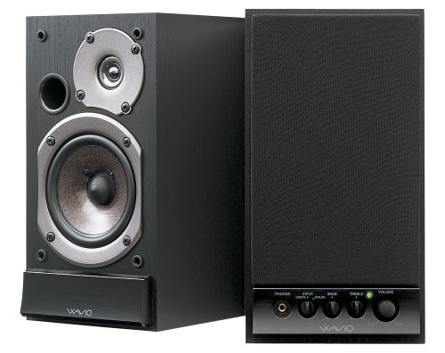 パワードスピーカーシステム WAVIO 15W+1 5W ブラック GX-D90 B 1本