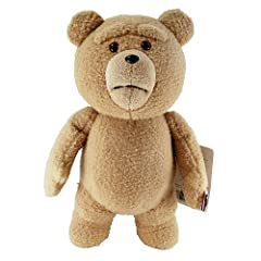 Ted 16-Inch Talking Plush Teddy Bear with Moving Mouth テッド テディベア おしゃべりぬいぐるみ 「クリーントーキング版(通常版)」 16インチ 米国正規公式ライセンス品 並行輸入品