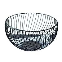 フルーツバスケット、手作りの鉄ワイヤーフルーツボウルバスケットホルダースタンド、フルーツ収納バスケット、リビングルーム、モダンなキッチンテーブル,B