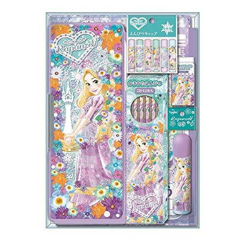ショウワノート ディズニー 文具ギフトセット クリスタルケースタイプ ラプンツェル 950570M01