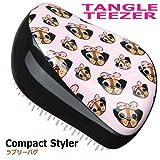 Tangle Teezer Compact Styler - Pug Love タングル ティザー コンパクト スタイラー パグ ラブ [並行輸入品]