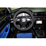 アウディs4b51996–01Cubierta del volante de RedlineGoods ESPAudiS49601wheelBPL-ST