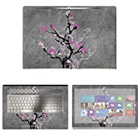 Decalrus - Protective Decal Floral Skin Sticker for HP ENVY 17M AE011DX (17.3 Screen) case cover wrap HPenvy17_ae011dx-34