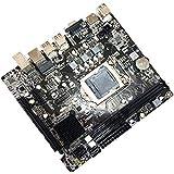 LGA 1155 H61マザーボード DDR3メモリ/ファストイーサネット/ 4 USB/HDMI/VGA 高解像度 高性能 高効率 高精細 ソリッドステートマザーボード デスクトップPCメインボード