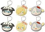 きゃらまかろん ユーリ!!! × サンリオキャラクターズ トレーディングストラップ BOX商品 1BOX=6個入り、全6種類