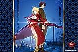 ブシロード ラバーマットコレクション Vol.219 Fate/EXTRA Last Encore『セイバー&ハクノ』