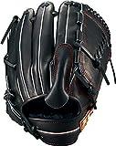 ZETT(ゼット) 軟式野球 ネオステイタス グラブ (グローブ) ピッチャー用 新軟式ボール対応 ブラックR(1900R) 右投げ用 BRGB31911