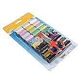 ソーイング糸  Deallink 裁縫 手芸 刺繍糸 DIY  30色セット ソーイングキット 家庭用裁縫セット  手縫い系 ミシン系