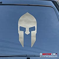 3s MOTORLINE SpartanマスクSpartaデカールステッカー車ビニールPickサイズカラーMolon Labe 28'' (71.1cm) ブラック 20180703s10