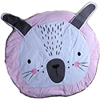 子供の赤ん坊のゲームブランケットウサギのクロールパッド空調ブランケット子供の部屋の装飾