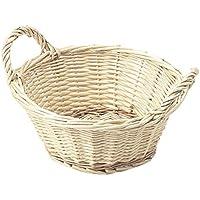 柳バスケット 丸型20cm 42-18