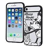 iPhone8 / iPhone7 / iPhone6s / iPhone6 ケース ディズニー キャラクター Beyond Imagination 耐衝撃 ケース キャトル 『BI/ミッキーマウス』_1 IQ-DP76SB/BMK01