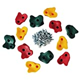 Magicfly Kids Large Rock Climbing Holds with Mounting Hardware ( 10パック)