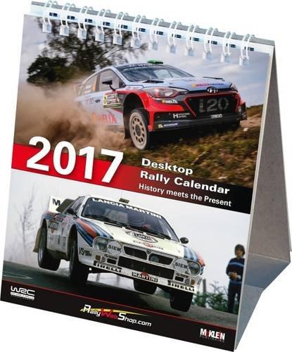 2017 Desktop Rally Calendar: History Meets the Present 2017