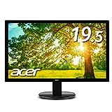 Acer モニター ディスプレイ K202HQLAbmix 19.5インチ HDMI端子対応 スピーカー内蔵