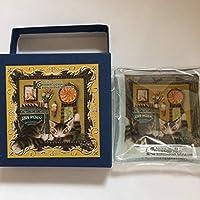 わちふぃーるど ダヤン 木ノ花美術館限定 ガラス小皿 鏡の中までお菓子の国 日本製 / WACHIFIELD DAYAN KONOHANA MUSEUM